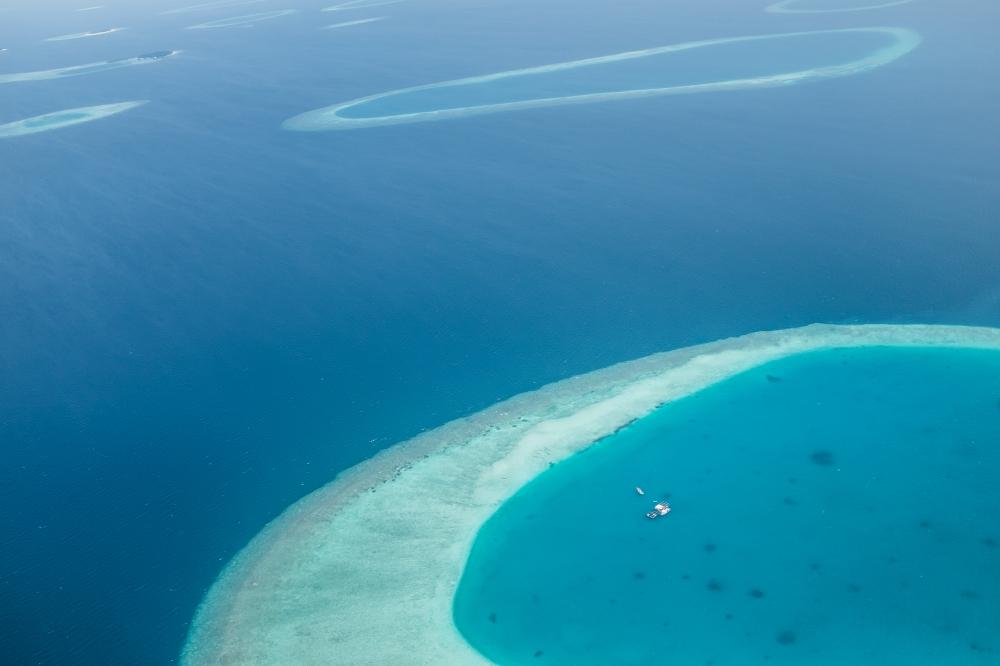 maldives aeriel