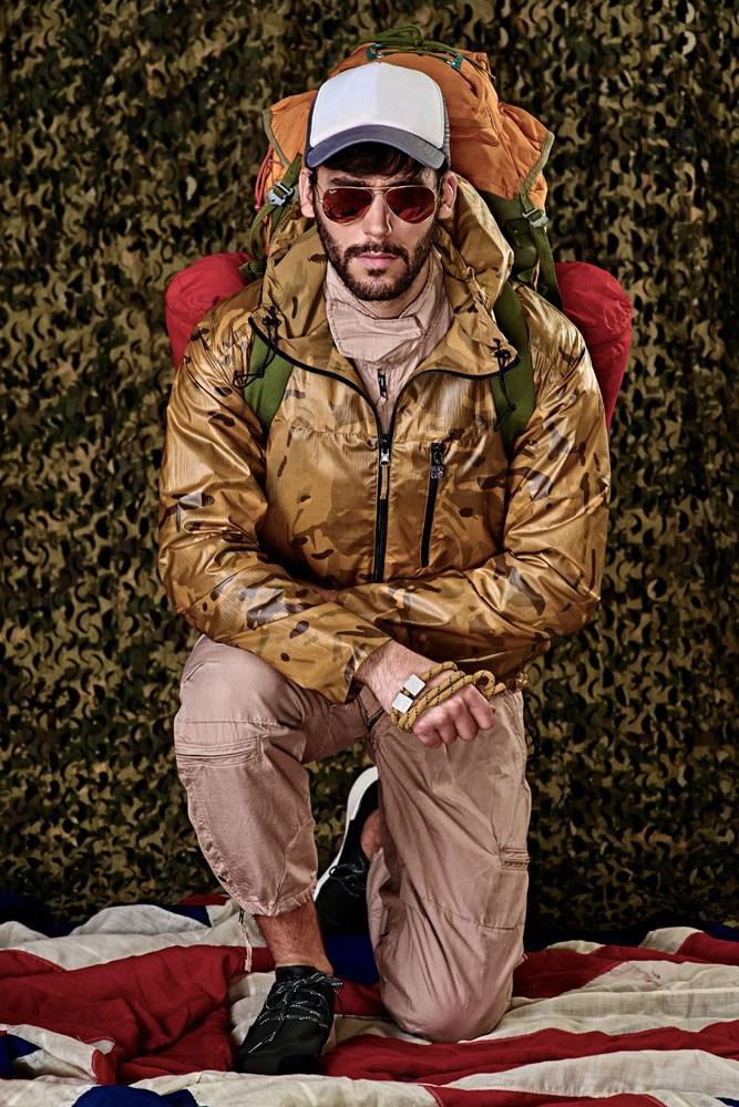 70s Trucker vibes fashion shoot