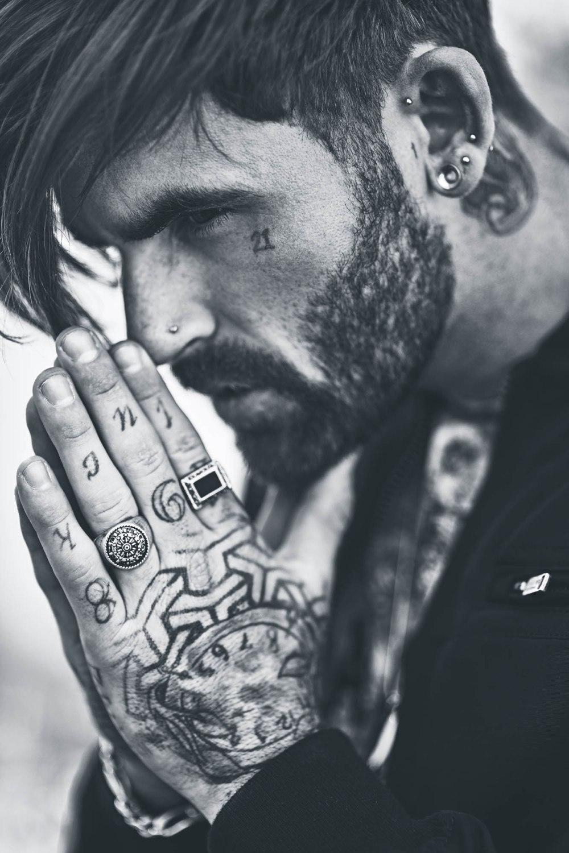 tattoo model natural light photographer location fashion rock biker portrait