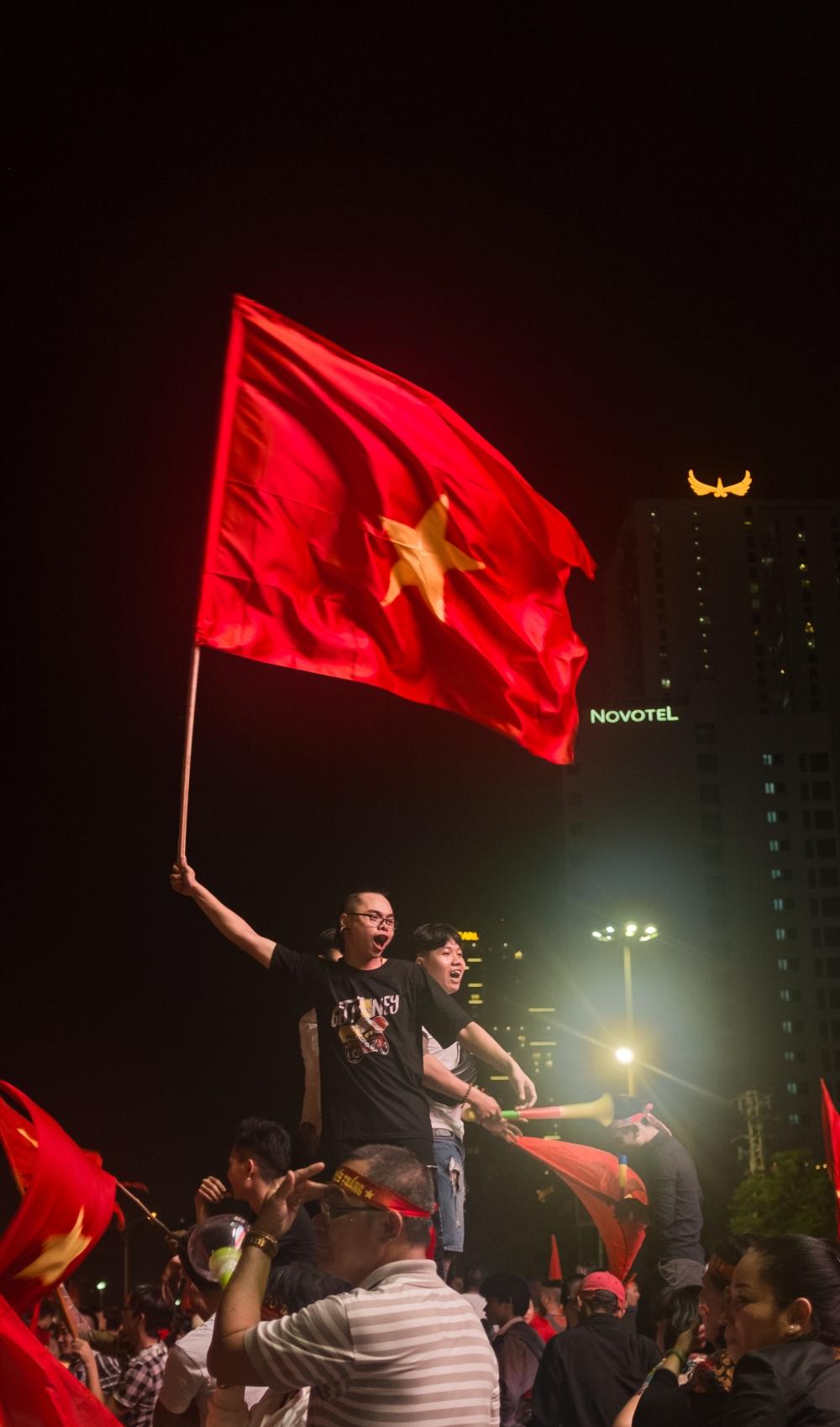 vietnam football celebrations 2018