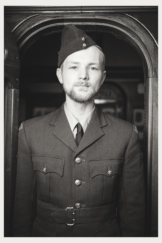 1940s vintage raf pilot